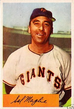 SalThe Barber Maglie Star Baseball Pitcher In 1950s