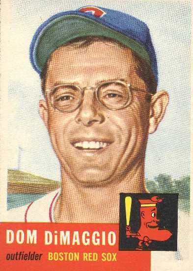Dom Dimaggio Society For American Baseball Research