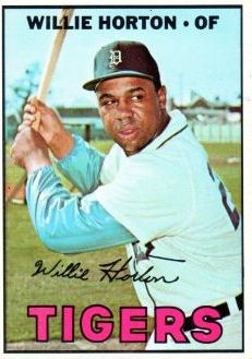 Willie Horton (THE TOPPS COMPANY)