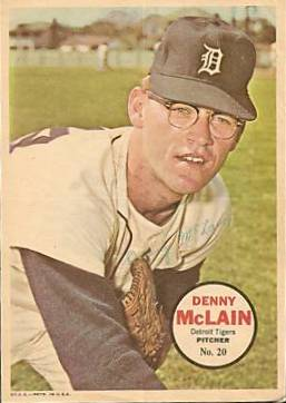 1968 : Detroit Tiger Denny McLain Wins 30th Game