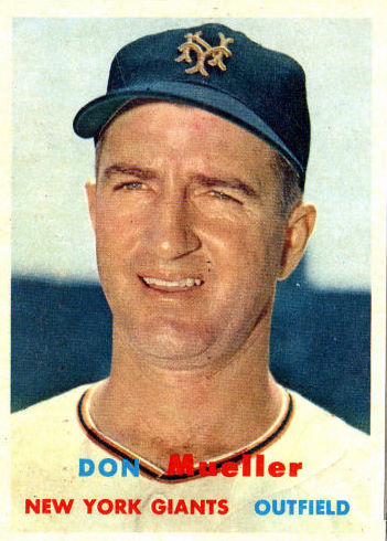 Don Mueller (THE TOPPS COMPANY)